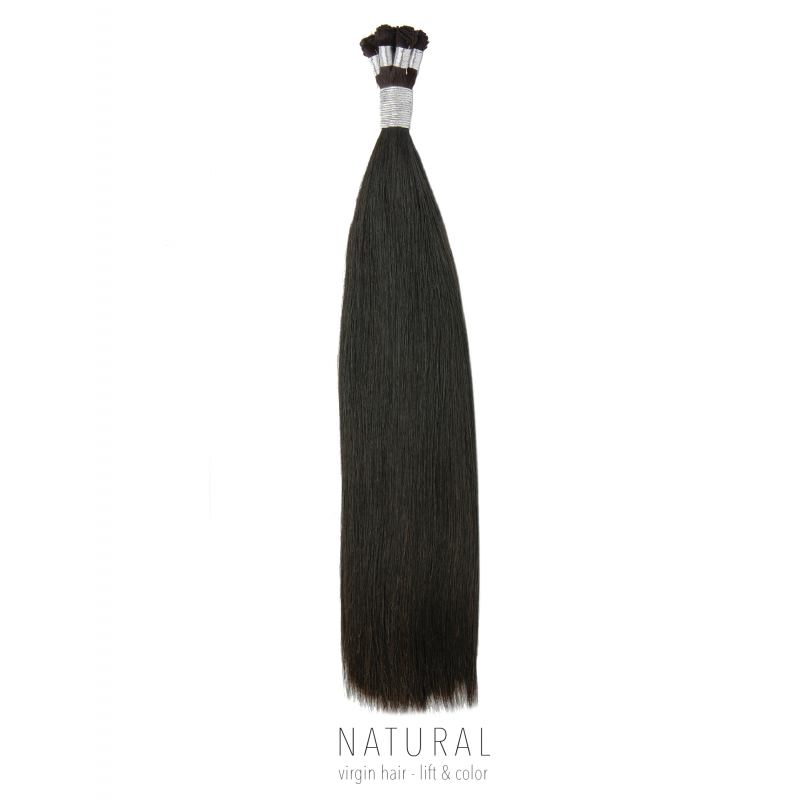 Hand-Tied Hair Extensions